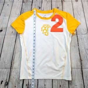 Nike Tops - Nike Dri Fit Orange Yellow Short Sleeve Tee